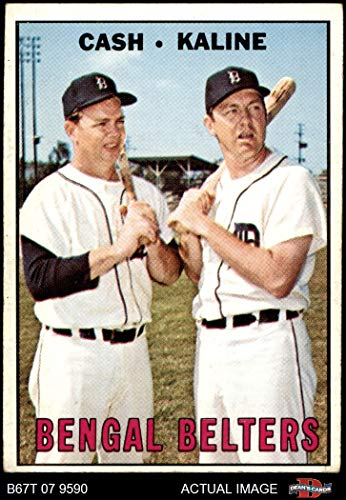 1967 Topps # 216 Bengal Belters Al Kaline/Norm Cash Detroit Tigers (Baseball Card) Dean's Cards 3 - VG Tigers ()