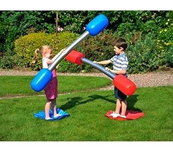 Kinder Kinder Zu Erwachsenen Aufblasbare Outdoor Gladiator Spiel Set