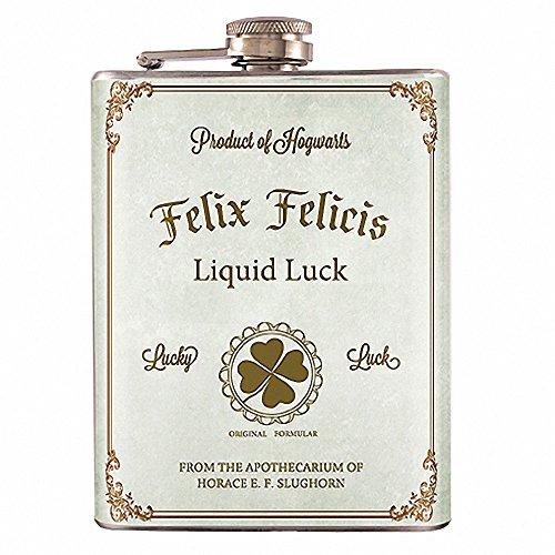 8oz – Felix Felicis Potion Harry Potter Flask