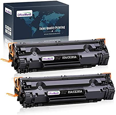 P1004 Works with: Laserjet P1002 P1006,/P1009 Black P1005 InkSurf Compatible Toner Replacement for HP CB435A P1003