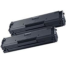 2 Inkfirst® Toner Cartridges D111S (MLT-D111S) Compatible Remanufactured for Samsung D111S Black Xpress M2020 M2020W M2021 M2021W M2022 M2022W M2070 M2070F M2070FW M2070W M2071 M2071FH M2071W