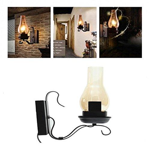 HTAIYN Vintage einzigartigen Stil industrielle rustikale Kupfer Steampunk Wandleuchte für Wohnzimmer Schlafzimmer Weg popular