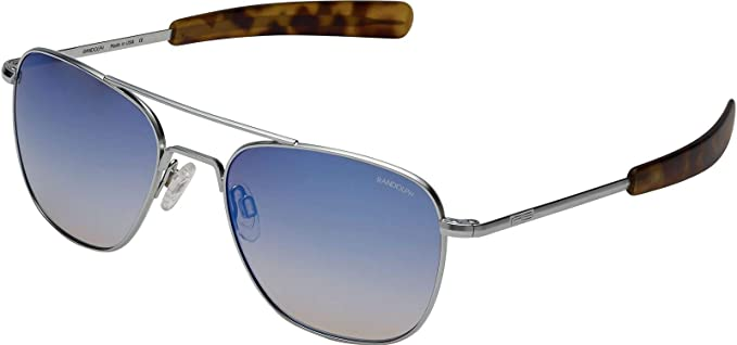 Sunglasses 58 Af220 Randolph New Matte Oasis Aviator Chrome Metallic cK1J3lTF
