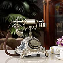 European antique vintage telephone rotary dial phone fashion Home Office old telephone landline