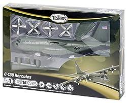 Testors C-130 Hercules Aircraft Model Kit (1:130 Scale)