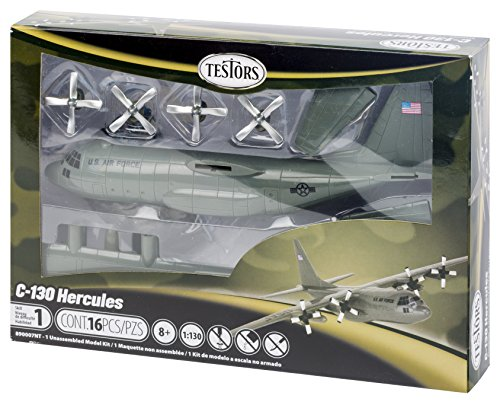 Testors C-130 Hercules Aircraft Model Kit (1:130 Scale)