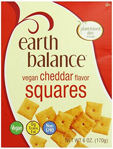 Earth Balance Vegan Cheddar Flavor Squares - 6 oz