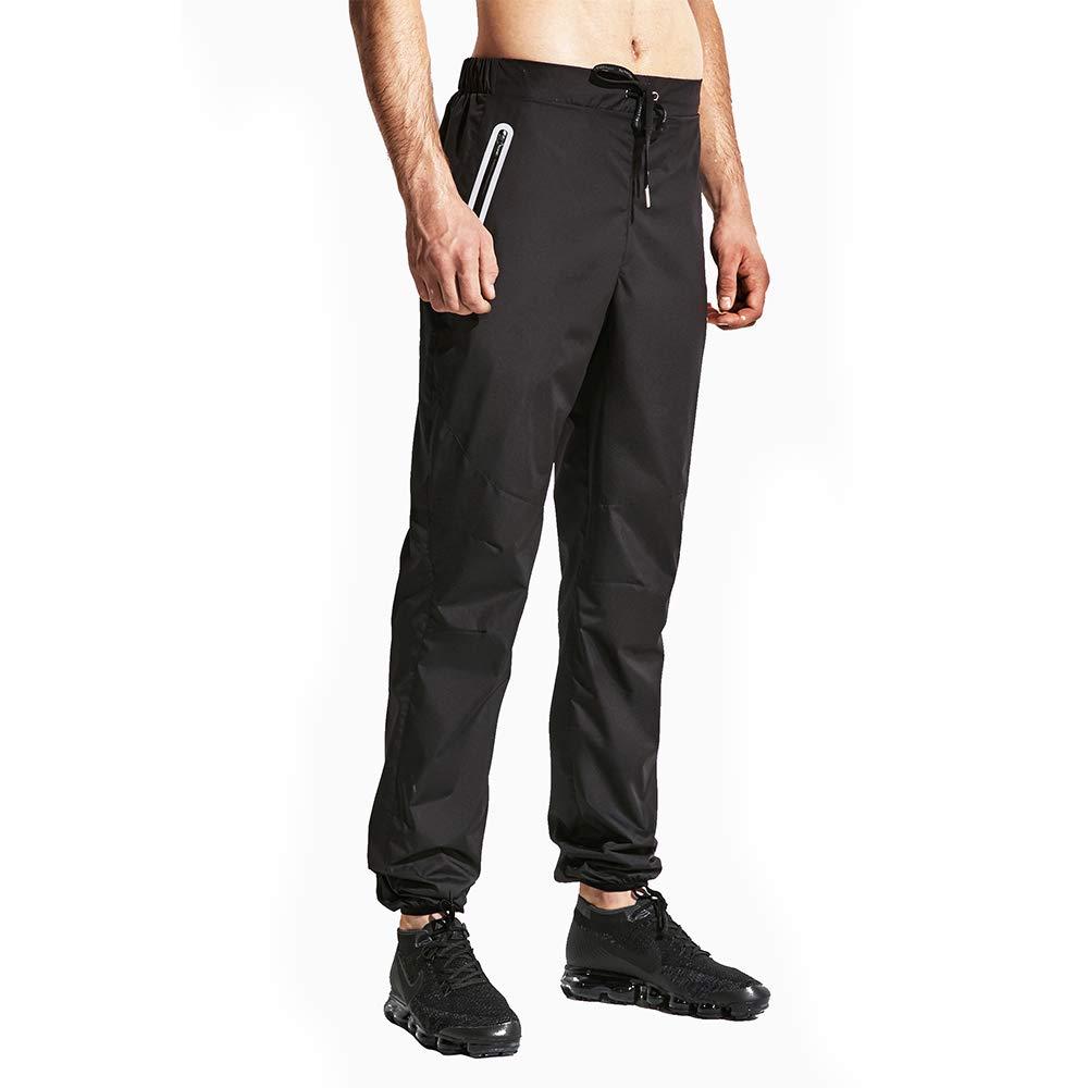 HOTSUIT Sauna Suits Pants Weight Loss for Men (Black,S)