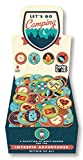 img - for Let's Go Camping Buttons book / textbook / text book