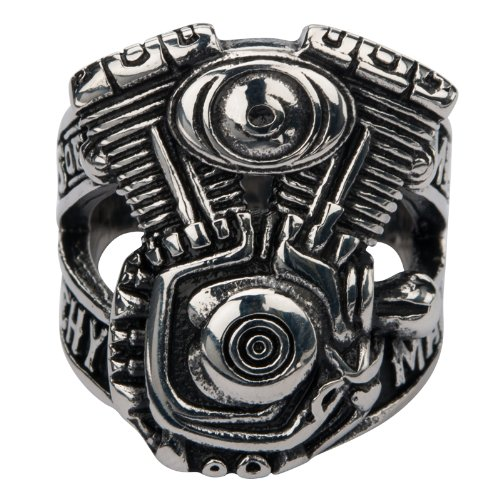Sons of Anarchy V-Twin Men of Mayhem Finger Ring (14) (Rings Sons Of Anarchy)