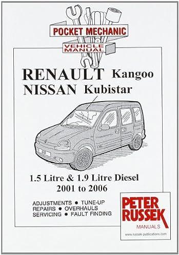 renault kangoo ii petrol models 1 2 1 4 and 1 6 litre engine 8 rh amazon co uk Renault Kangoo 4x4 Renault Kangoo Van