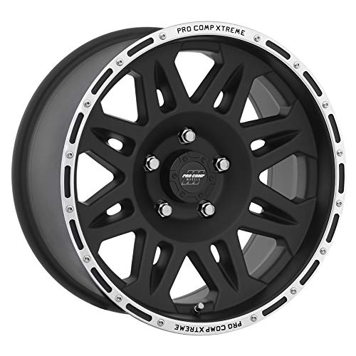 Pro Comp Alloy 7105-7973 Xtreme Alloys Series 7105 Black Fin