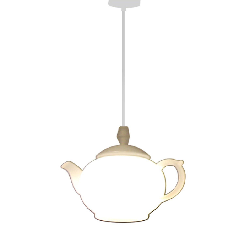 RAING Postmodern Led Teapot Pendant Lights Acrylic Lampshade Creative Restaurant Bar Fashion Decoration Teacup Chandelier Diameter 15cm 110v/220v RAING Pendant Lights