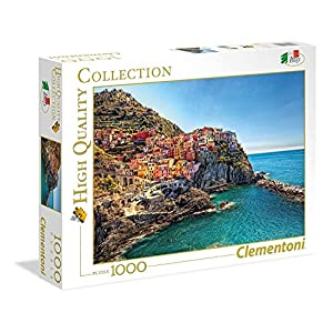 Clementoni 39452 High Quality Collection Puzzle Manarola 1000 Pezzi