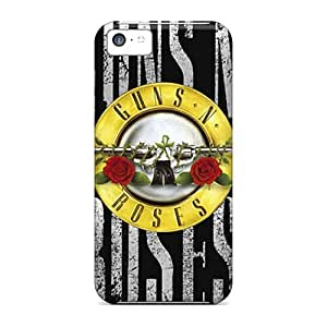 Iphone Case - Tpu Case Protective For Iphone 5c- Guns N Roses