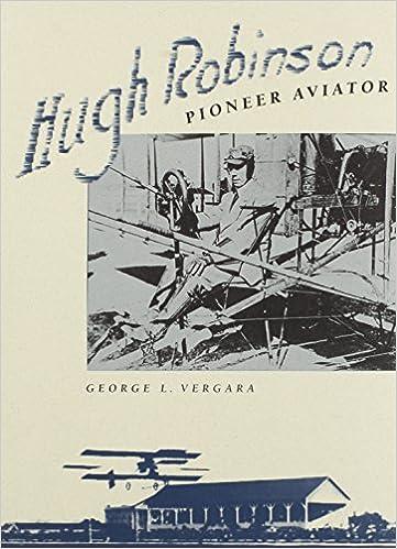 Hugh Robinson: Pioneer Aviator