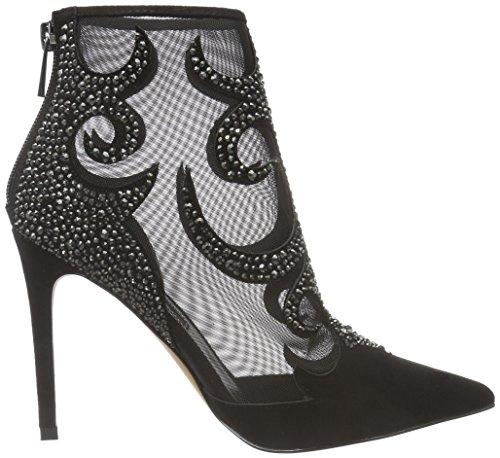 Buffalo Shoes Damen RK 1507-040 IMI Suede Kurzschaft Stiefel, Schwarz (Black 01), 37 EU