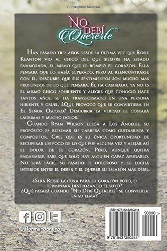 No debí quererte (Cruel Amor) (Volume 5) (Spanish Edition): Flor M. Urdaneta: 9781543250244: Amazon.com: Books