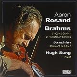 AARON ROSAND; HUGH S - BRAHMS:  VIOLIN WORKS
