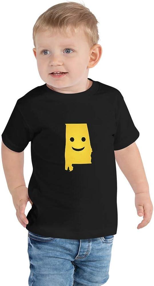 Alabama Emoji Toddler Short Sleeve Tee T-Shirt