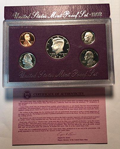 1992 S United States Mint Proof Set (United States Mint Proof Set 1992)