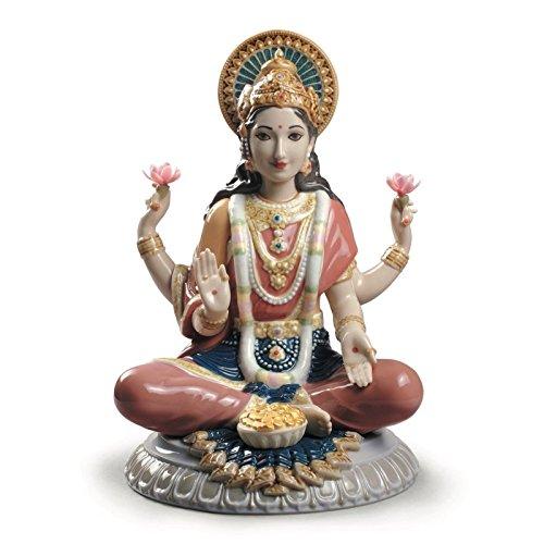 Lladro Goddess Sri Lakshmi Figurine ()