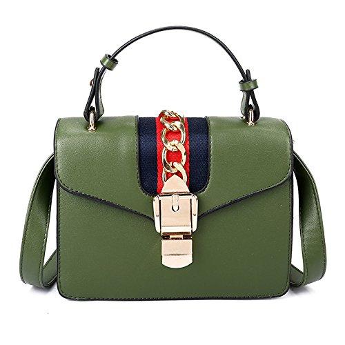 Portable Petit Green BAILIANG Diagonale épaule Simple Carré épaule qUSwfIvB