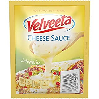 Velveeta Jalapeno Cheese Sauce 4 Ounce (Pack of 1)