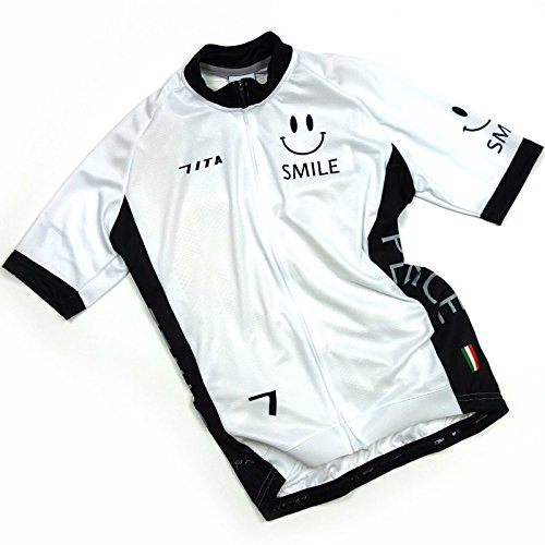 対話残り狂信者セブンイタリア Neo Happiness Smile Jersey ホワイト XS(78S-NHS-JY-WHXS)