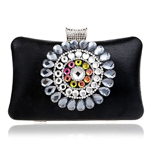 Bolso mensajero TuTu cadena para Bolsos la imitacin de del noche noche de hombro acrlico diamantes Bolsas la de de de de de monedero de el black blue de Bolsas embrague mujeres de las boda xF8UrZFq1w