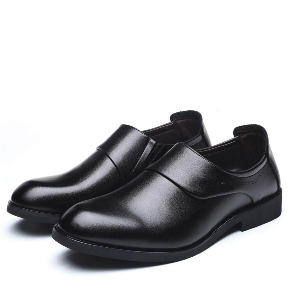 TongLing Men Business Oxford Casual Comfortable Fashion Classic British Style Slip On Formal Shoes Dress Shoes