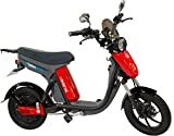 GigaByke V2 Groove 2.0-750W Electric Motorized Bike (Red)