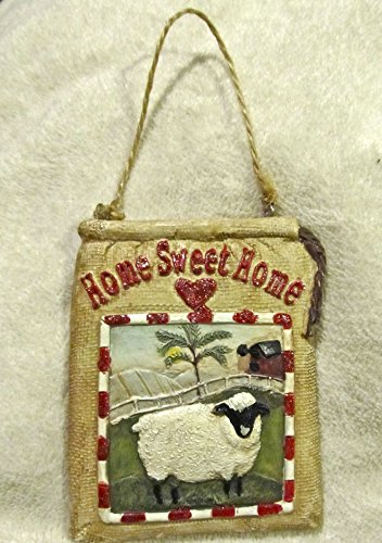 HOME SWEET HOME Country Ornament