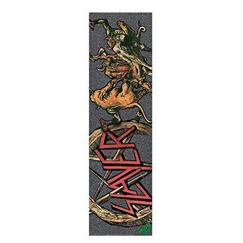 MOB Skateboard Griptape SLAYER V2 HELL AWAITS 9 x 33 Sheet by mob