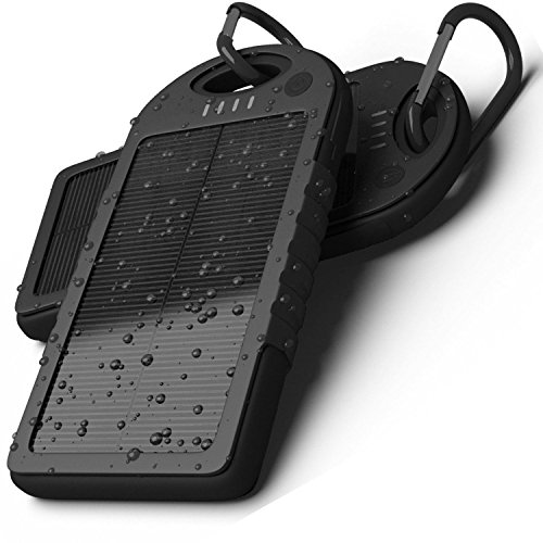 Price comparison product image NPLE--300000mAh Portable Waterproof Solar Charger Dual USB External Battery Power Bank