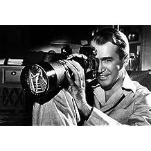 James Stewart Rear Window Smiling As He Looks Through Exakta Camera 11x17 Mini Poster