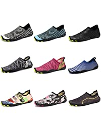 Men Women Barefoot Water Aqua Shoes Skin Flexible Socks For Swim, Walking, Garden, Park, Driving, Yoga, Lake, Beach
