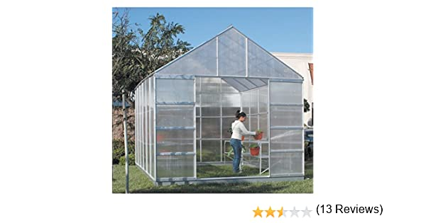 Attractive Amazon.com : 12 X 10 Polycarbonate Aluminum Framed Steel Base Greenhouse :  Free Standing Greenhouses : Garden U0026 Outdoor