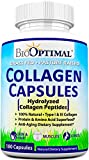BioOptimal Collagen Pills - Collagen Supplements, Grass Fed, Premium Quality, Non-GMO, for Women