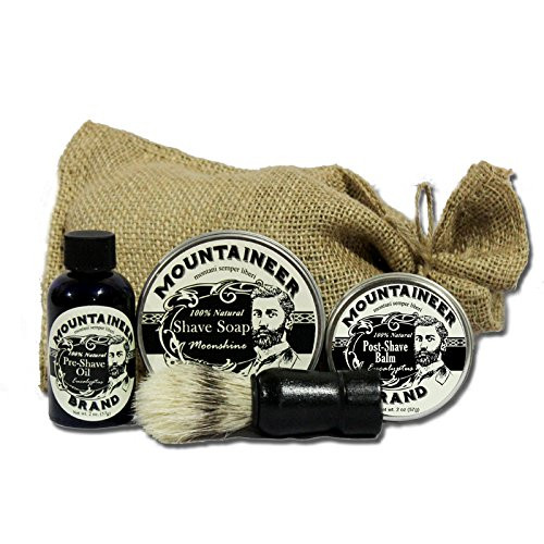 Moonshine Mountaineer Brand Pre Shave Post Shave