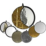 Impact 5-in-1 Collapsible Circular Reflector Disc - 42''