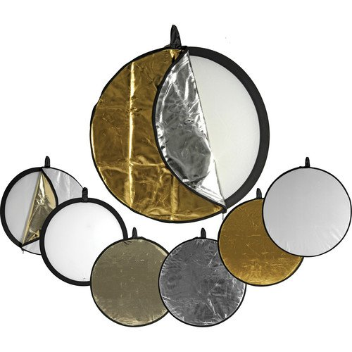 Impact 5-in-1 Collapsible Circular Reflector Disc - 42'' by Unknown