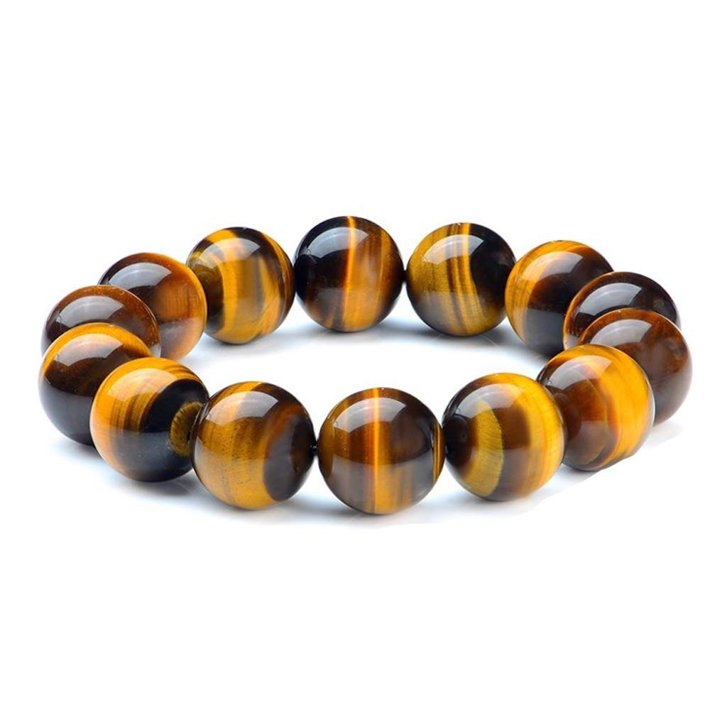 LHBNH Handmade Bracelet Jiale Natural Stone Bracelet-HJCA19060035 Male Tiger Eye Stone Beads Stone Bracelet, Female Crystal Jewelry Jewelry Gift Personal Gift