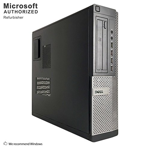 Dell Optiplex 990 Desktop Computer, i7 upto 3.8GHz CPU, 16GB DDR3 Memory, New 512GB SSD, WiFi, Windows 10 Pro (Renewed)