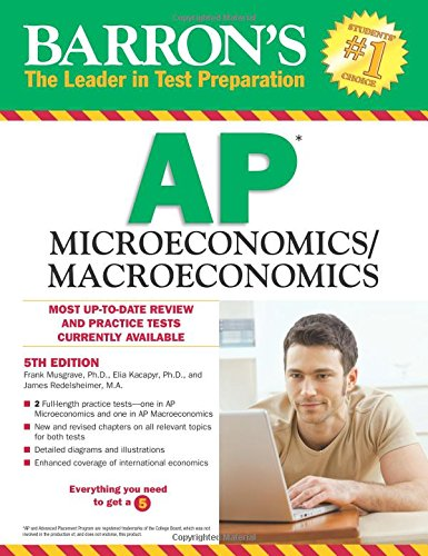 Barron's AP Microeconomics/Macroeconomics, 5th Edition cover