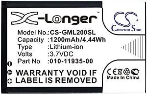 Bater/ía de ion de litio para Garmin GLO GLO 2 010-01055-15 010-02184-01 CS sustituye a Garmin 010-11935-00