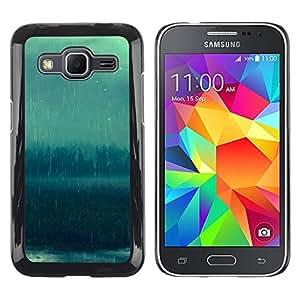 Stuss Case / Funda Carcasa protectora - Bosque lluvioso - Samsung Galaxy Core Prime