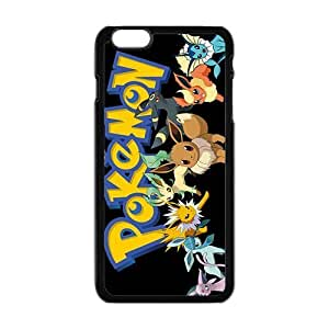 Anime cartoon Pokemon durable Cell Phone Case for Iphone 6 Plus