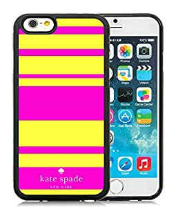 Beautiful DIY Designed Kate Spade iPhone 6 Black Phone Case 4.7 inch Case 045