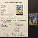 Autographed/Signed David Beckham Manchester United Soccer Rookie Card JSA COA LOA